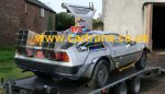 Promotional vehicle used to promote Back to the future 3
