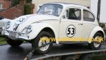 Needing no introduction, an original Herbie from the Love Bug.