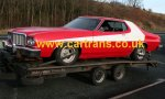 Complete with camera mounts, a Ford Gran Torino from Starskey & Hutch.